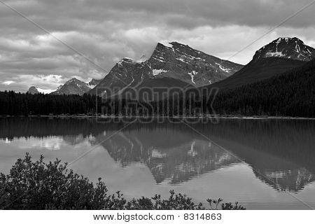 Canadian Rocky Mountain Lake