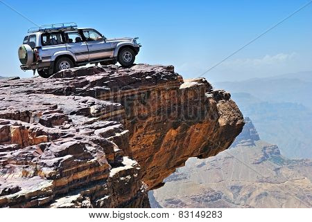 Vehicle Mountain Adventure Background