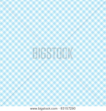 Blue Checkered Background