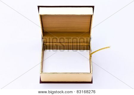 White Blank Business Namecard In Box