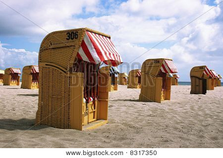 Beach Chairs, Norther Germany