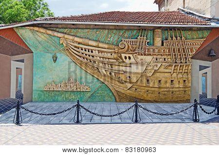 Brigantine Panels In Feodosia