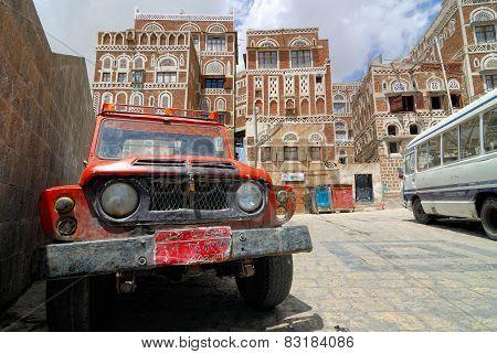 Yemen, Saana