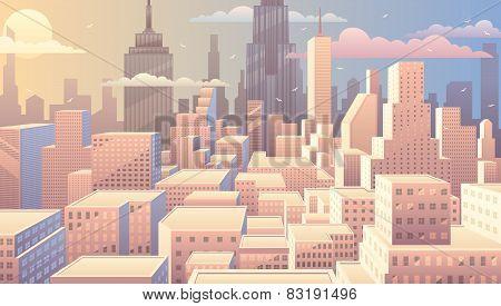 Cityscape Sunrise