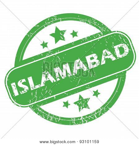 Islamabad green stamp
