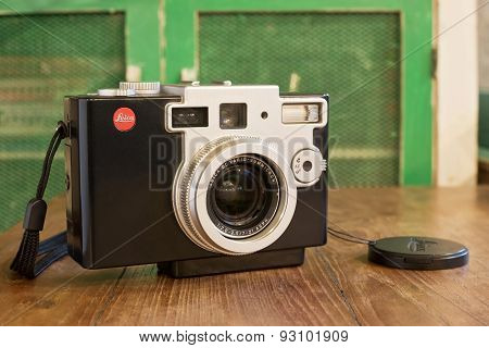 Leica Digilux 1 Camera Was Developed By Leica And Panasonic