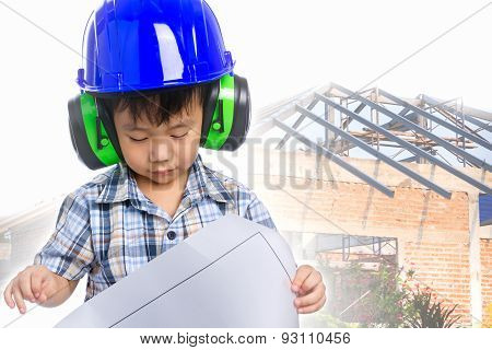 Dream Of The Child's Future Career  (engineer)