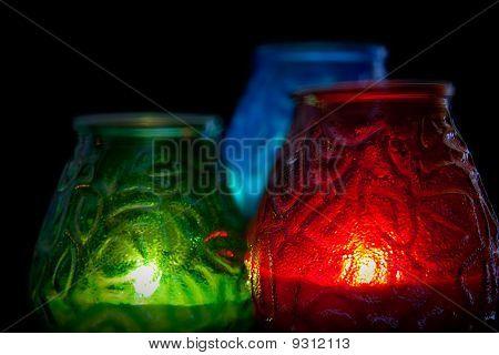 RGB Candles Horizontal