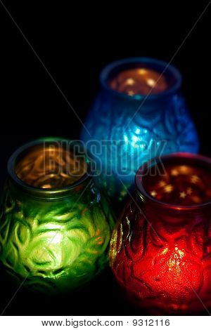 RGB Candles Vertical