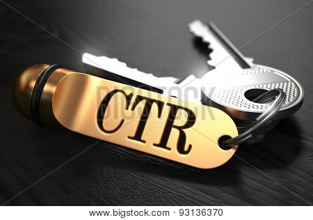 Keys with Word CTR on Golden Label.