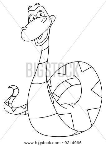 Outlined Snake