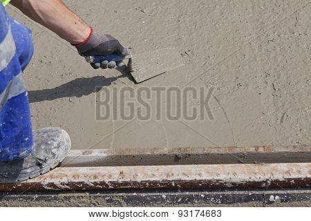 Wet Cement Worker