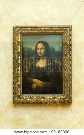 Paris, France - May 13, 2015: Leonardo Davinci's