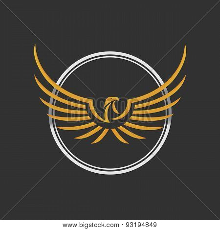 Eagle Logo Icon Design Template. Stock vector.