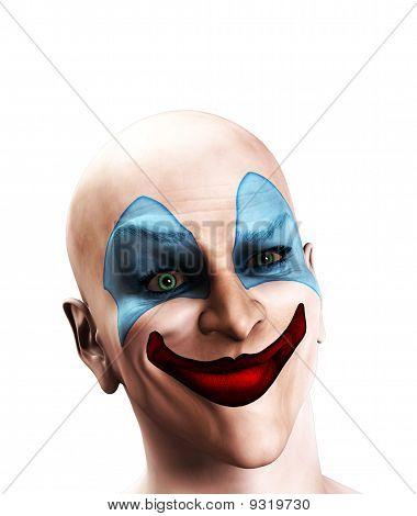 Evil Clown Puzzled
