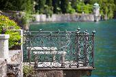 Villa Monastero in Varenna Lake Como Italy poster