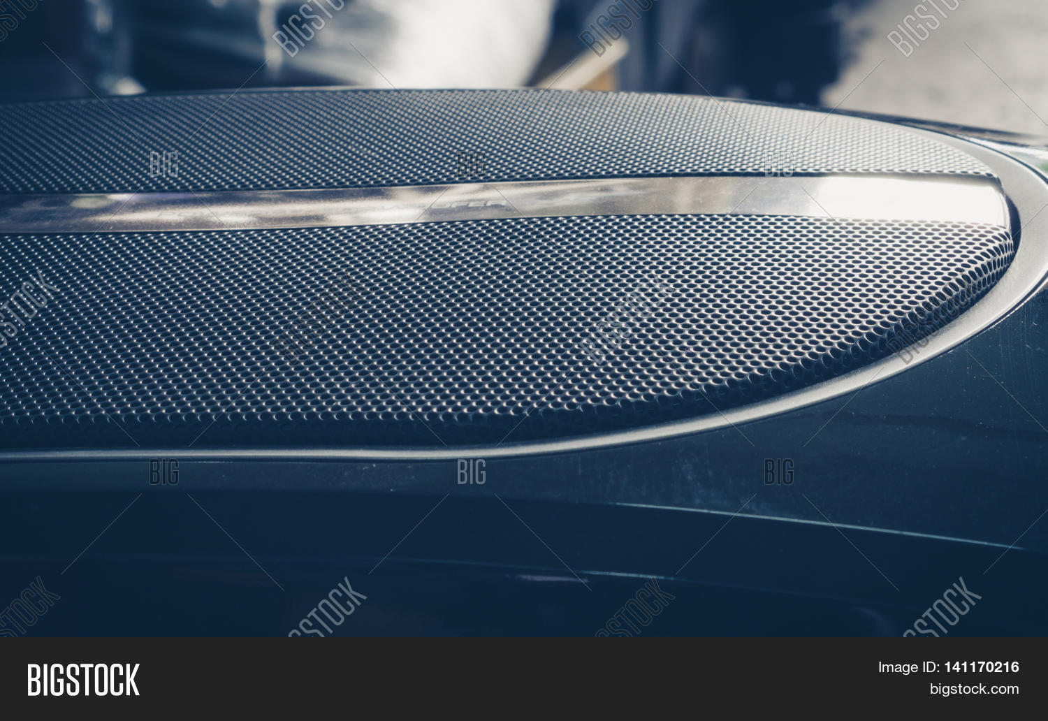 Part Black Old Car Image Photo Free Trial Bigstock Audio Of Subwoofer Vintage Filtered Effect