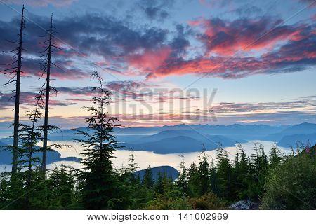 Bowen Lookout At Cypress Mountain