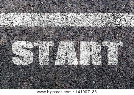 Word Start Written