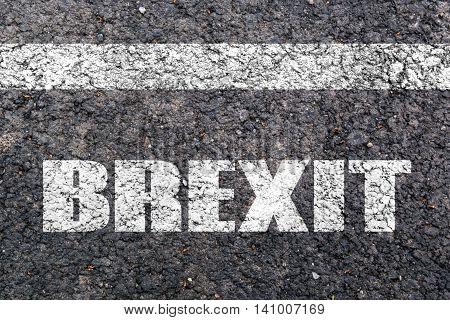 Concept Of Brexit, Uk United Kingdom Versus E