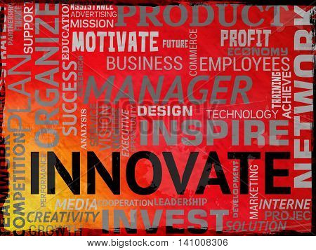 Innovate Words Means Restructuring Reorganization And Ideas