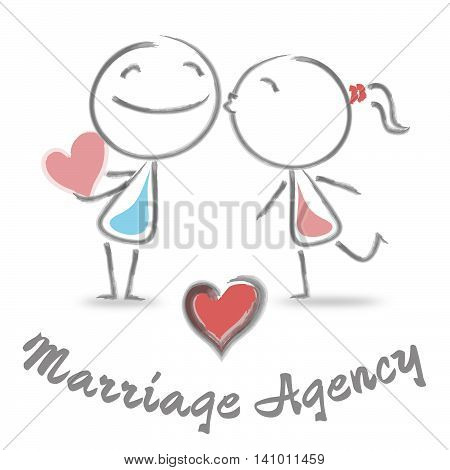 Marriage Agency Represents Find Love And Affection
