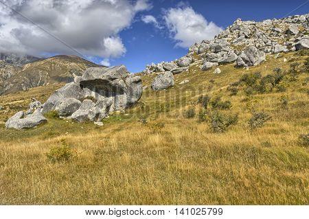 Boulders At Castle Hill