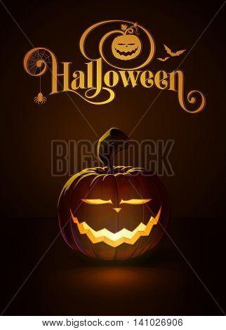 Jack-o-lantern Dark Saber Smile