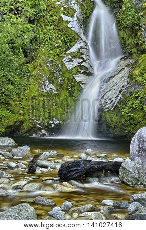 Beautiful Dorothy Falls South Island, New Zealand