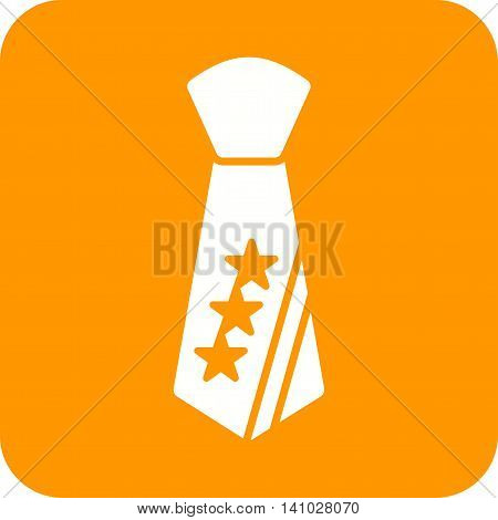Result, presidential, tie icon vector image. Can also be used for elections. Suitable for use on web apps, mobile apps and print media.
