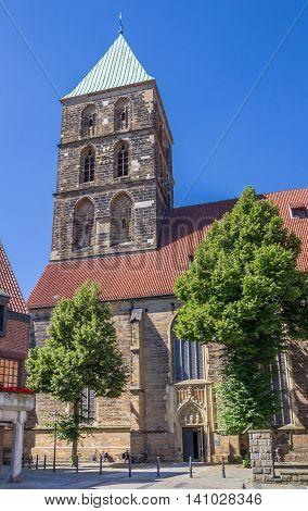 St. Dionysius Church In The Center Of Rheine