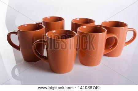 Mug. Ceramic Mug On A Background. Mug. Ceramic Mug On A Background.