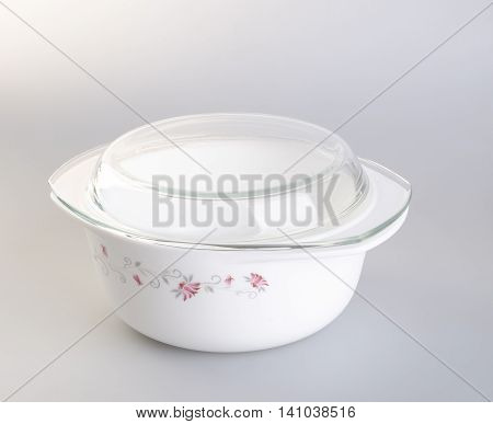 Pot. Casserole On The Background. Casserole Pot On The Background.