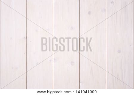 White painted wood background. Vertical timber panels.