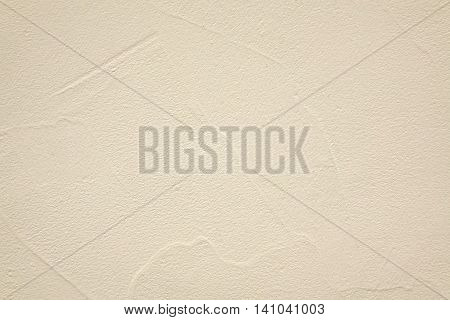 Decorative Beige Finishing Plaster With Abstract Application Pattern Textured Background