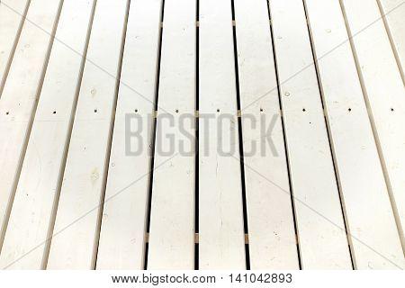 Beach Bar Patio White Wooden Flooring Background Texture