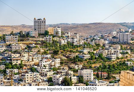 View of the city of Bethlehem - Palestine