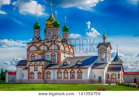 Holy Trinity Cathedral Varnickiy Monastery Of St. Sergius Of Radonezh Rostov Russia