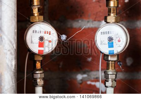 Cold And Hot Residential Water Meters
