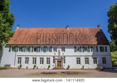 Front Of The Bentlage Monastery Near Rheine
