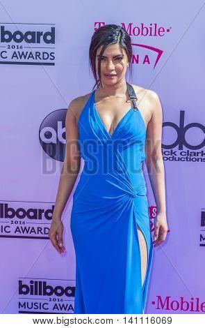 LAS VEGAS - MAY 22 : Actress Priyanka Chopra attends the 2016 Billboard Music Awards at T-Mobile Arena on May 22 2016 in Las Vegas Nevada.