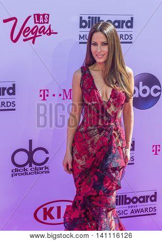 LAS VEGAS - MAY 22 : Radio personality Kerri Kasem attends the 2016 Billboard Music Awards at T-Mobile Arena on May 22 2016 in Las Vegas Nevada.