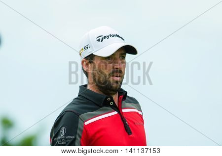 CHONBURI - JULY 31 : John Parry of England in King's Cup 2016 at Phoenix Gold Golf & Country Club Pattaya on July 31 2016 in Chonburi Thailand.