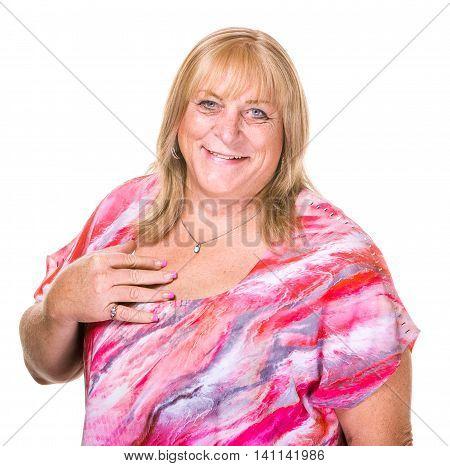 Closeup Of Smiling Transgender Woman