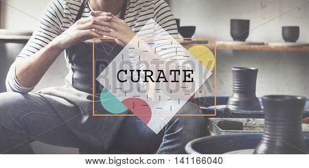 Curate Ideas Imagination Inspiration Skills Concept