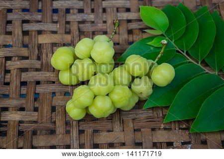 star gooseberry on the wooden floor,tree, floor, natural, agriculture