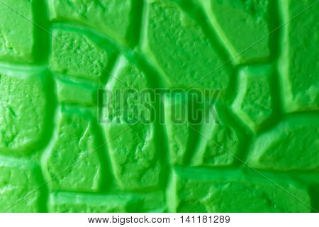 Green Plastic Toy Wall