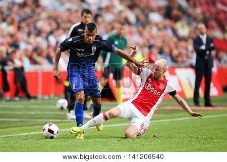 Uefa Champions League Third Qualifying Round Between Ajax Vs Paok
