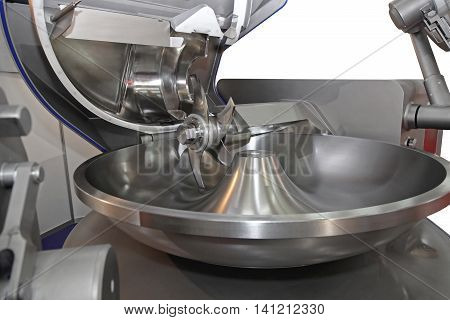 Sharp Rotary Knife in Meat Processing Machine