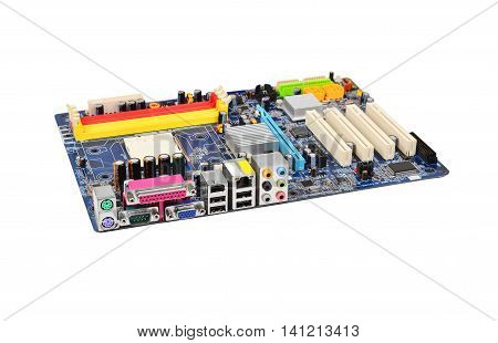 Printed Computer Motherboard